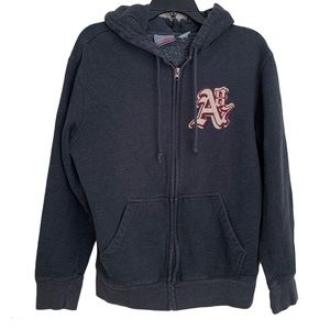 3/$25 Aeropostale Men's Gray Zip Up Hoodie Small